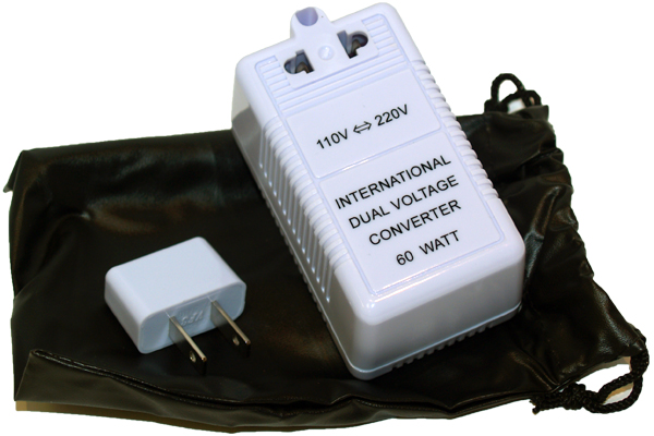 dual voltage converter for Italy