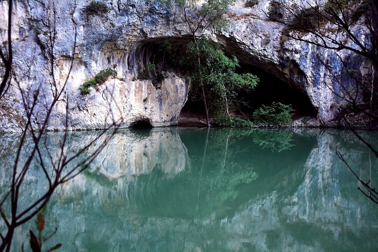 Furlo Gorges in Le Marche Italy
