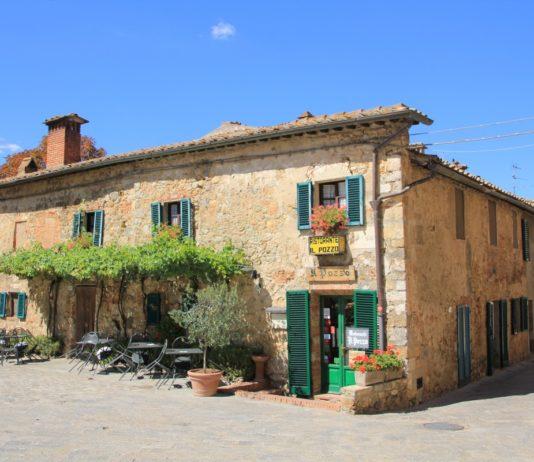 monteriggioni tuscany, Italy