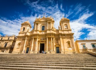Cathedral Noto Sicily, Visits of Italy