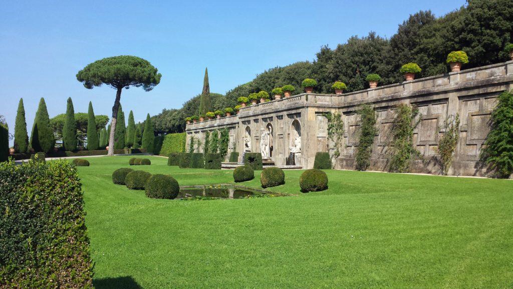 Garden of Mirrors, Castel Gandolfo, Rome, Lazio, Italy