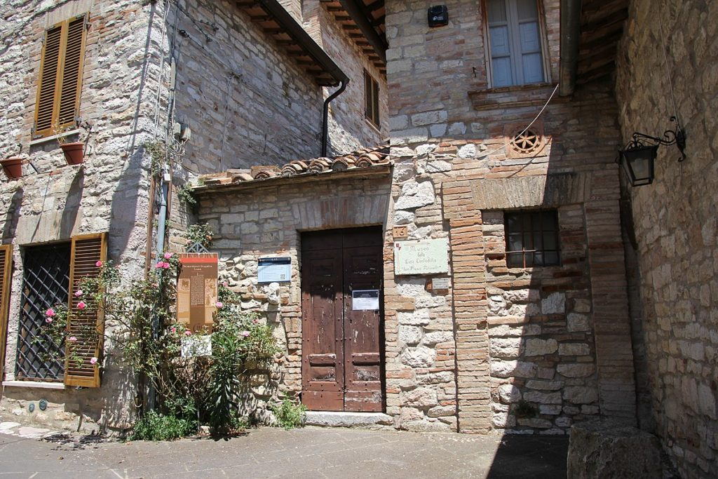 Corciano, Perugia, Umbria, Italy. Medieval cottage search.