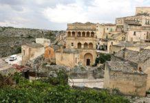 Matera palazzotto del casale Basilicata, Italy