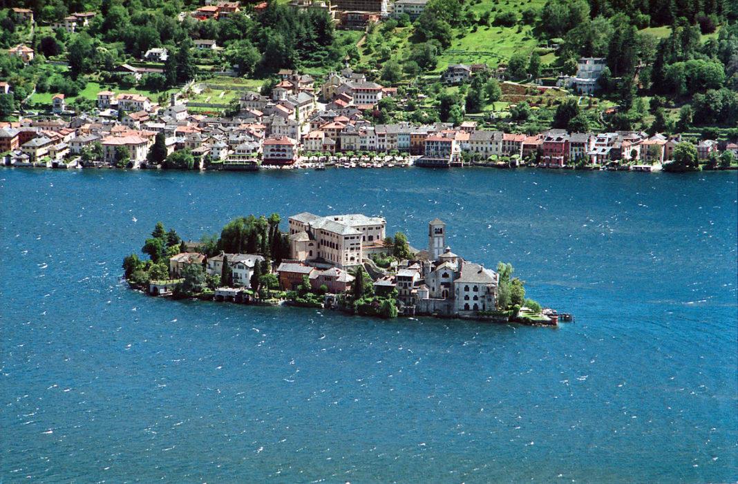 Orta Lake San Giulio Island