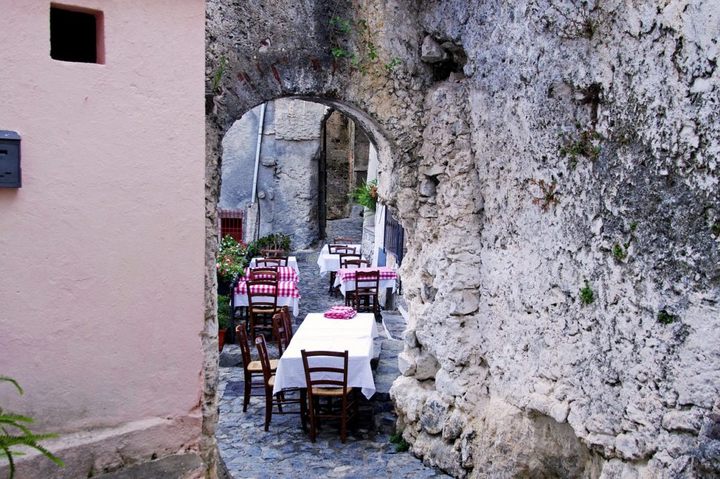 Osteria in Italy