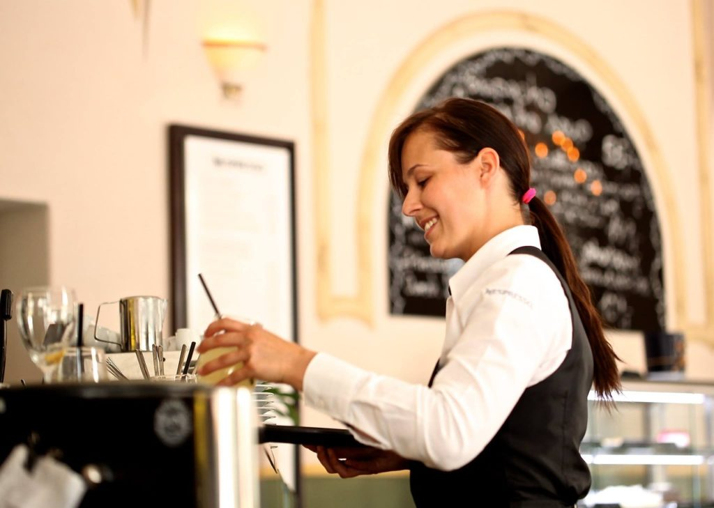 Italian Waitress