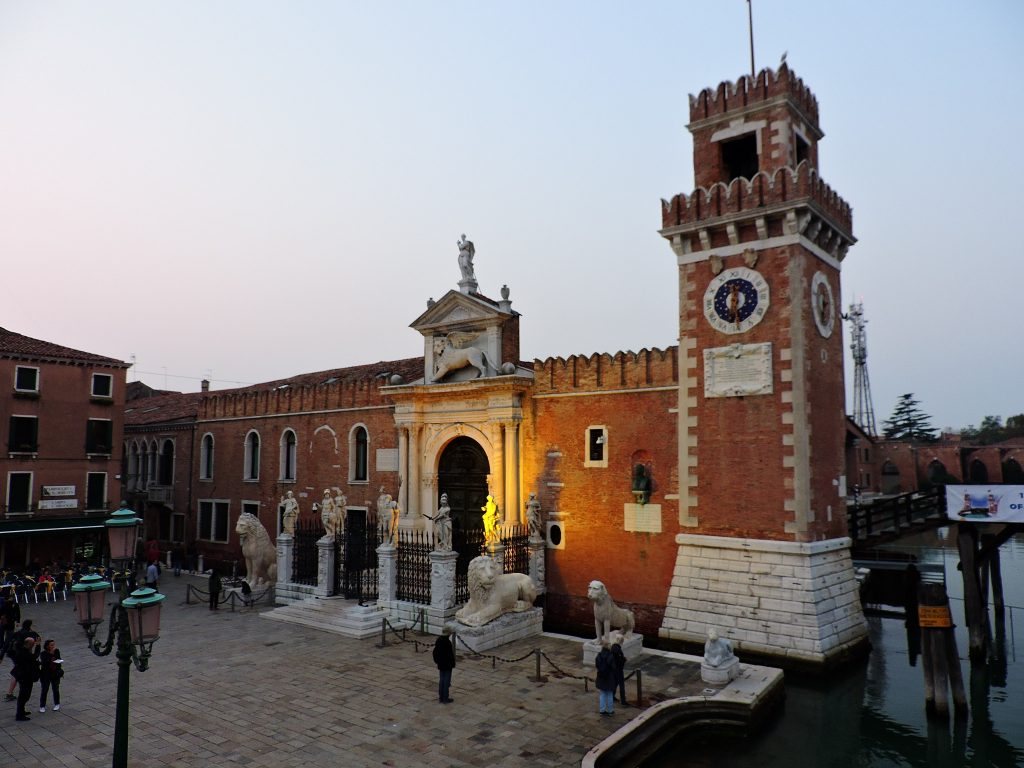 Arsenale in Venice, Veneto, Italy