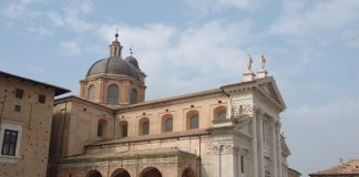 Dome Urbino Marches Italy