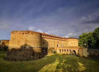 Rocca Costanza, Pesaro Castle, Marches, Italy