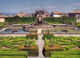 Villa Lante Beautiful Gardens, Viterbo, Lazio, Italy